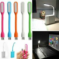 2 PCS Flexible Bright Mini USB LED Light Lamp for Notebook Laptop Desk Reading