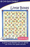 Little Boxes Quilt Pattern by Cozy Quilt Designs