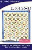 Little Boxes Quilt Pattern by Cozy Quilt Designs