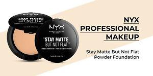 NYX Professional Make Up STAY MATTE BUT NOT FLAT Powder Foundation - WARM BEIGE