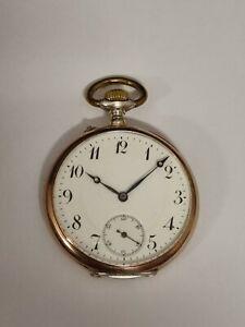 Herren Lepine Taschenuhr aus Silber mit Top Qualität Werk  um 1900