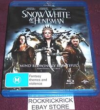 SNOW WHITE & THE HUNTSMAN -BLU-RAY (REGION 12) -K.STEWART,C.THERON,C.HEMSWORTH-