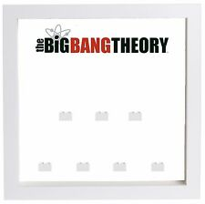 Lego Minifigure Display Case Frame The Big Bang Theory minifigs superheroes