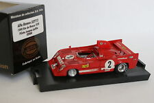 Brumm CEC 1/43 - Alfa Romeo 33 TT12 Monza 1975 Lafitte