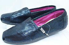 NUEVO Toms Zapatos Mujer Planos Talla 9.5 Classics Zapatillas MEDIA NOCHE