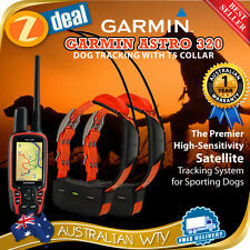 GARMIN ASTRO 320 / 430 GPS DOG TRACKING BUNDLE + 2 X T5 / DC50 DC-50 COLLAR
