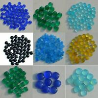 Details about  /Top Quality 6X6 mm Aqua chalcedony Round Cabochon Flat Back Gemstone HP-69