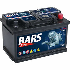 BARS 12V 85 Ah 780A EN AUTOBATTERIE STARTERBATTERIE CALCIUM Technologie NEU