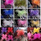 10/100pcs 50mm Ribbon Wedding Flower Pull Bows Birthday Party Present Gift Decor