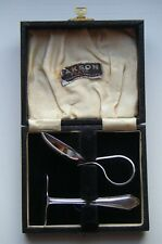 Vintage EPNS Christening Spoon & Pusher