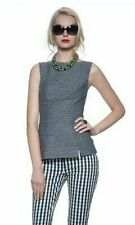Banana Republic Mad Men Women's Top Navy and White Size 8 *NWT*