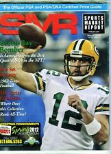 New listing MARCH 2012 AARON RODGERS COVER SMR PSA SPORTS MARKET REPORT PRICE GUIDE  MINT