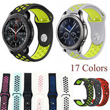 Soft Silicone Strap for Samsung Gear S3 Frontier S3 Classic Amazfit 2 Sport Band