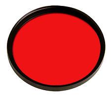 Filtro Colorato Rosso 49mm 49 mm NUOVO