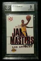 1997 upper deck UD3 Kobe Bryant jam Masters BGS 9 mint Los Angeles Lakers star