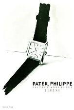 Publicité ancienne montres Patek, Philippe 1954 issue de magazine