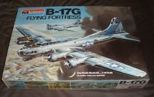 Monogram B-17 G Flying Fortress Rare 1975 Mint Sealed 1/48 scale