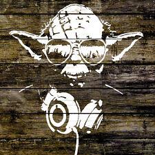 DJ Yoda Star Wars 1 Piece Glossy Poster Art Print!