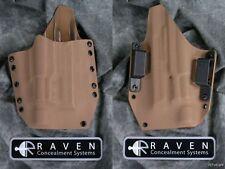 NEW RAVEN CONCEALMENT S&W M&P FULL 9 40 357 SUREFIRE X300 LIGHT COYOTE HOLSTER
