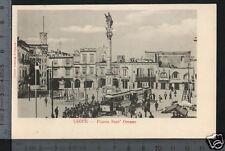 [16256] LECCE - PIAZZA SANT'ORONZO CON TRAM _ 1902