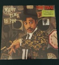 THE TIME LP WHAT TIME IS IT? RSD 2017 VINILE GREEN VINYL NUOVO SIGILLATO PRINCE