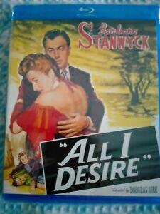 "ALL I DESIRE  [Blu Ray] USA Region ""A"", Brand New Condition"
