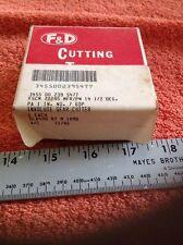 F&D Involute Gear Cutter No. 7  60P  PA1 IN. NSN 3455-00-239-5477