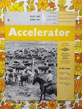 ACCELERATOR May 1957 Vol. 14 No. 4 GMH NASCO Parts Holden magazine