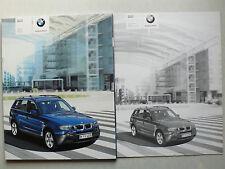 Prospekt - der neue BMW X 3 (2.5i, 3.0i, 3.0d), 1.2004, 110 Seiten + Preisliste