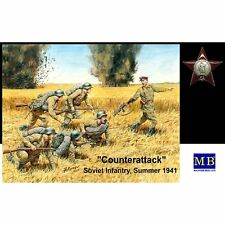 MASTER Box 3563 Counter Attack FANTERIA SOVIETICA Estate 1941 1/35 SCALA KIT