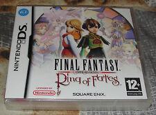 Final Fantasy Crystal Chronicles Ring Of Fates Jeu DS VF neuf sous blister