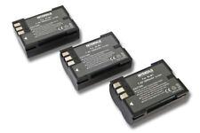 3St. Akku 1.600mAh für OLYMPUS E-330 / E-500 / E-510 / E-520