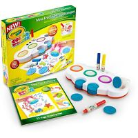 Crayola Color Wonder Mess Free Light Up Stamper Art Tools Ages 3+ New Toy Draw