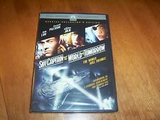 Sky Captain and the World of Tomorrow Full Screen Collector's Edition DVD NEW