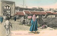 Tangier,Morocco,No.Africa,Grand Soko Gate,Market,c.1901-06