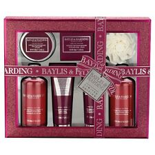 Baylis & Harding Midnight Fig & Pomegranate 7 Piece Gift Set Xmas Gift Ltd Ed