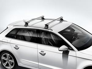 Original Audi A3 8V Sportback Grundträger für Fzg'e mit Dachreling BJ2013-2018