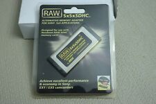 Raw SxSxSdhc - For use with Hoodman Raw Sdhc memory cards