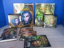 WORLD OF WARCRAFT BATTLE CHEST~Discs~Codes~Guides~Manuals~Guest Passes