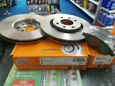 PEUGEOT 1007 207 307 PARTNER *KEYPARTS* FRONT PADS AND DISCS SET