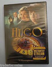NEW DVD HUGO (2012 with Digital Copy; UltraViolet) Ben Kingsley, Asa Butterfield