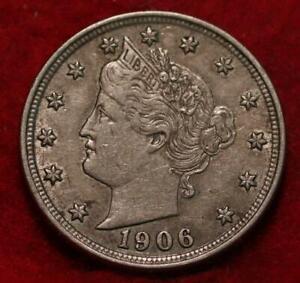 1906 Philadelphia Mint Liberty Nickel