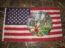 3x5 Indian Horse Mountain Geronimo Flag 3'x5' house banner grommets