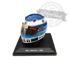 Spark Editions 1:5 Scale Mika Hakkinen 1998 F1 Mini Helmet Casque Formula One