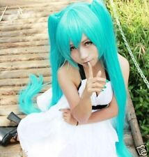 130CM Long vocaloid miku long blue straight wig