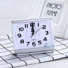 Alarm Clock Analog Table Clock Travel Alarm Clock Quartz Clock Silent Movement