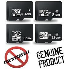 New 100% Genuine 32GB Class 10 Micro SD SDHC UHS-I Memory Card for Smart Phone