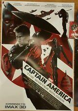 Marvel CAPTAIN AMERICA WINTER SOLDIER-Orginal Mini Movie Poster