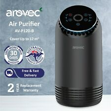 Arovec Air Purifier Carbon HEPA Filter Best Home Cleaner Smoke Dust Allergens
