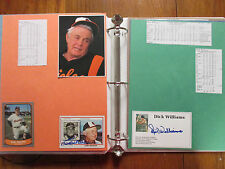 Orioles(2 Albums/150 Pages/100 Autographs/200 Players/Some Obits/BROOKS ROBINSON